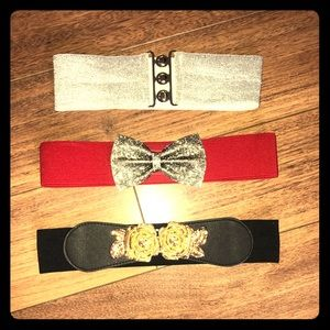 3 for 1 Small Women's belts